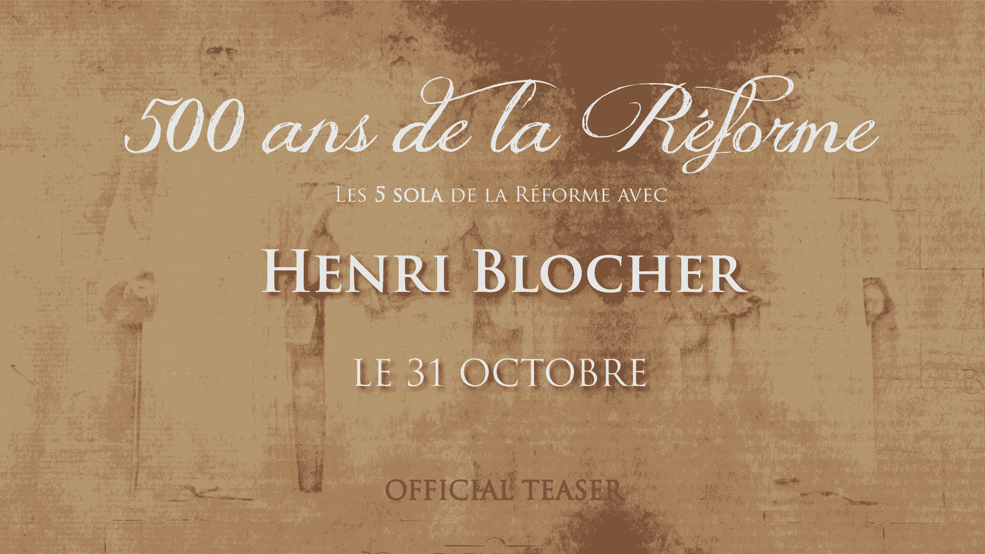 Les 5 Sola de la Réforme – Henri Blocher