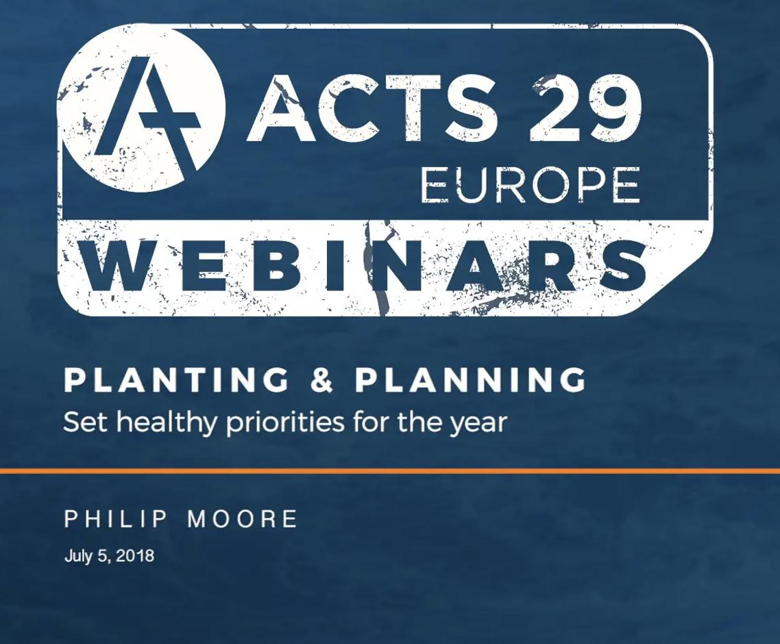 WEBINAR | Planting & Planning – Philip Moore