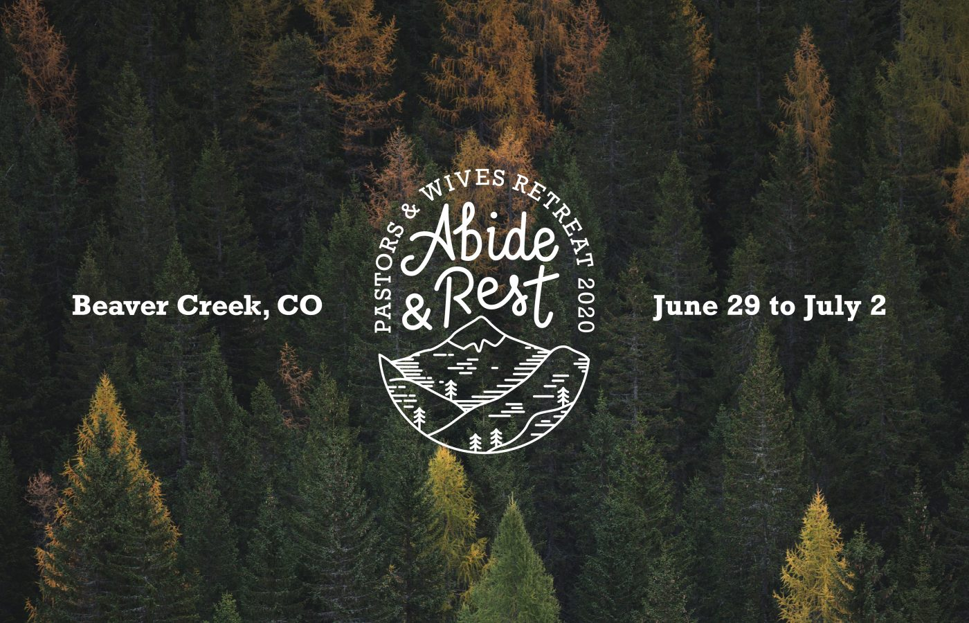 US West | Pastors and Wives Retreat